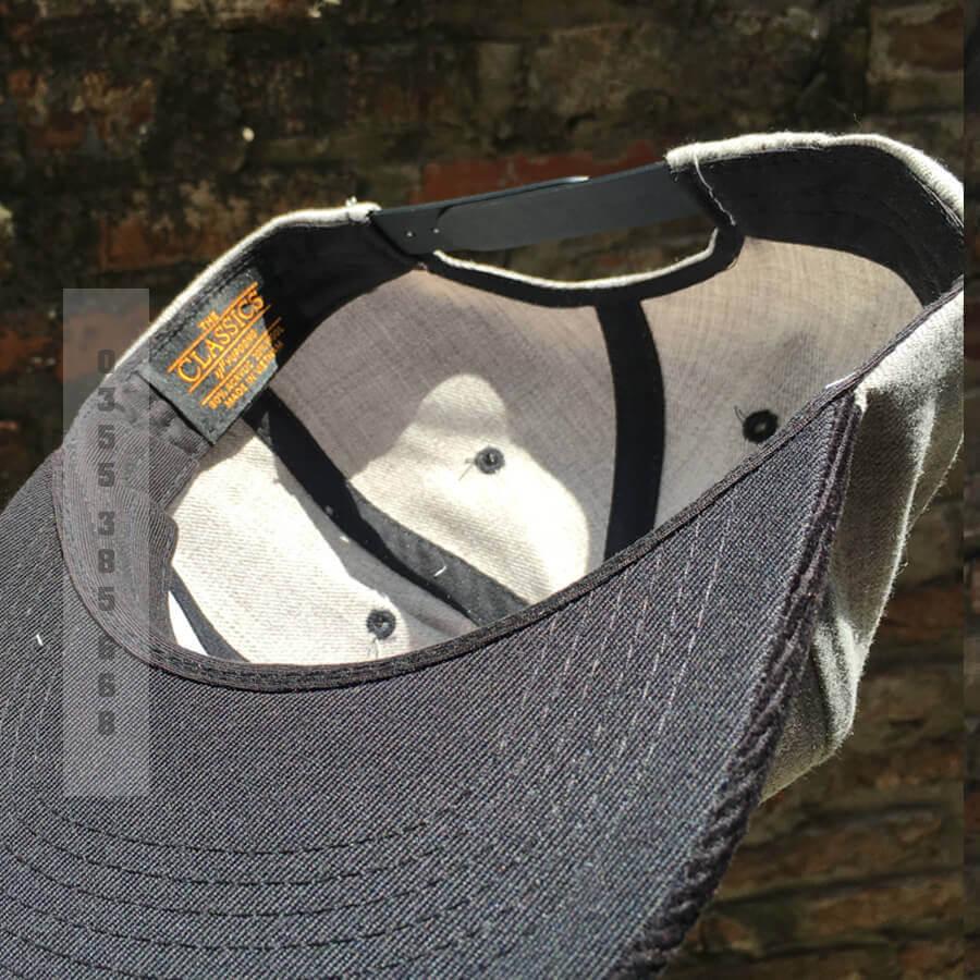 mũ columbia xám M1006